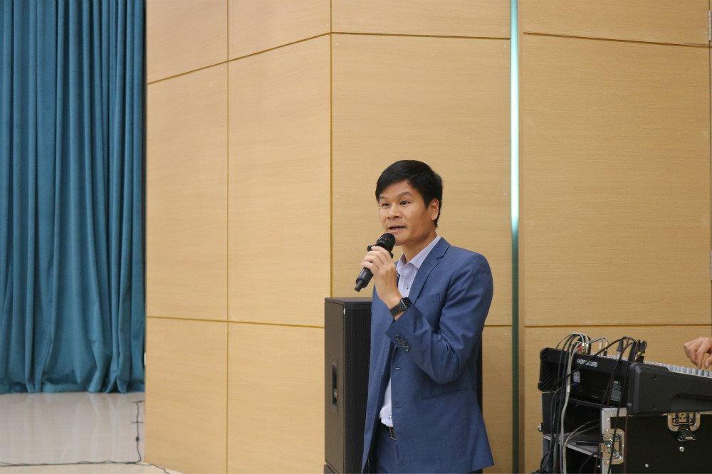 Ông Nguyễn Cao Thắng, Tổng Giám đốc Công ty CP Đầu tư và Xây dựng Xuân Mai đề xuất biện pháp phát triển VLXKN